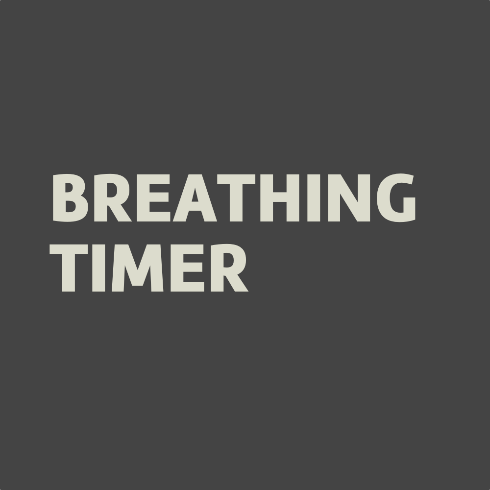 Minimalist and free online breathing timers for breathing exercises (4-2-4, 4-7-8, HRV + box).