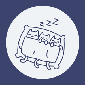 Calm down and sleep like a kitten. Guided Meditations for Deep Sleep and Relaxation.